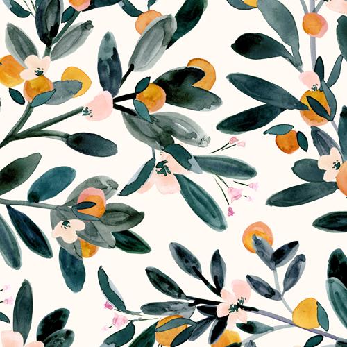 clementine sprigs white