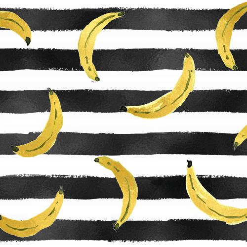 Gold Bananas Stripe
