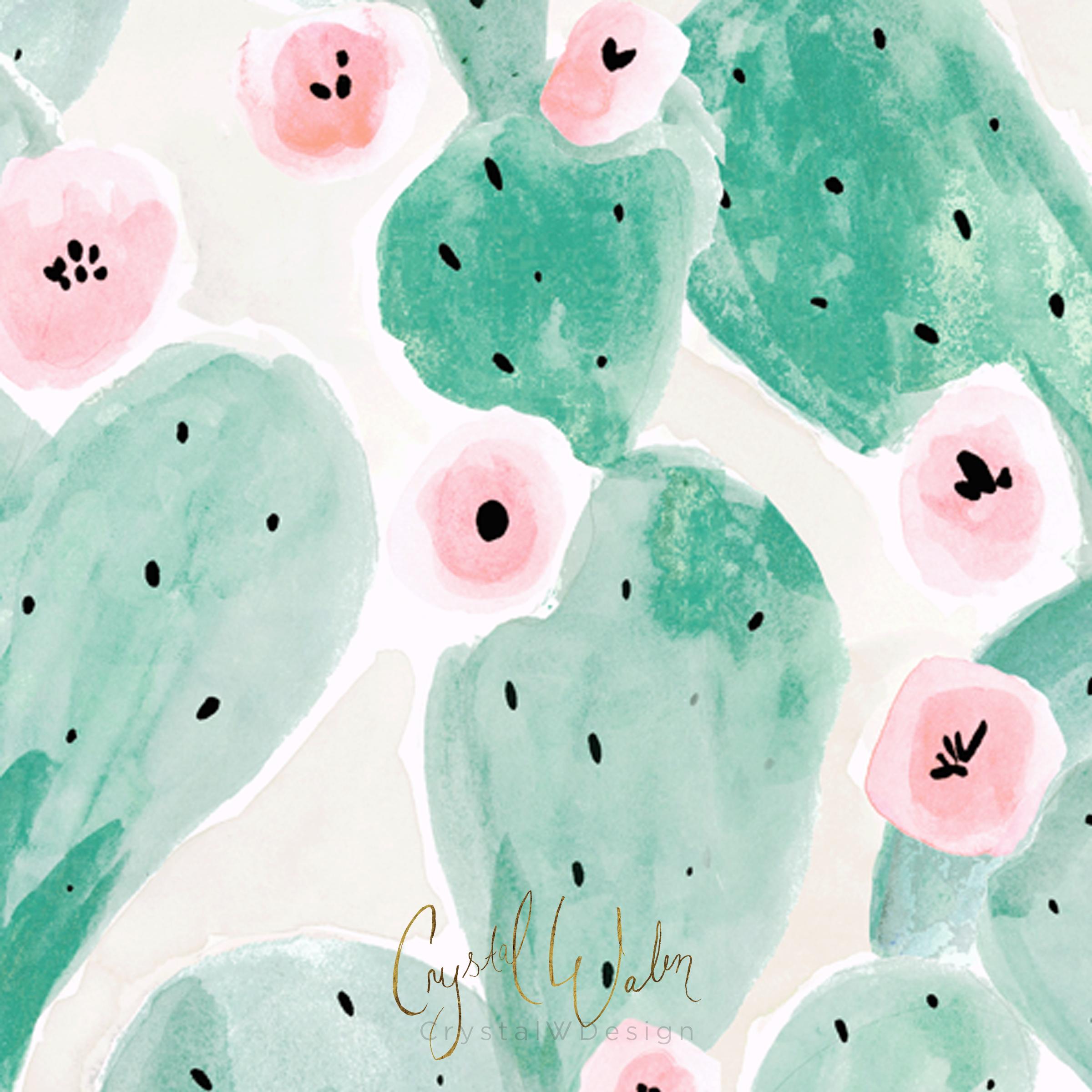 Jade Cactus Bloom