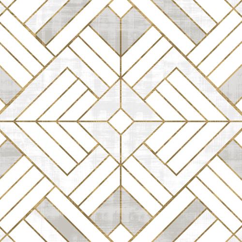 Lennox Vintage Deco - White + Gold