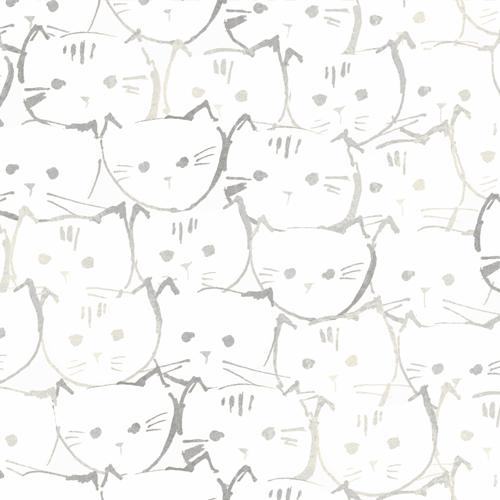 Many Kitties - Gray