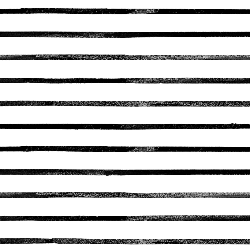 Mod Thin Stripe White