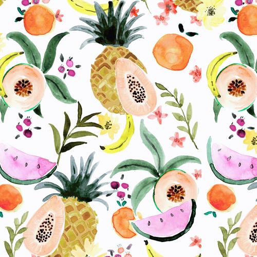 Summer Fruits White