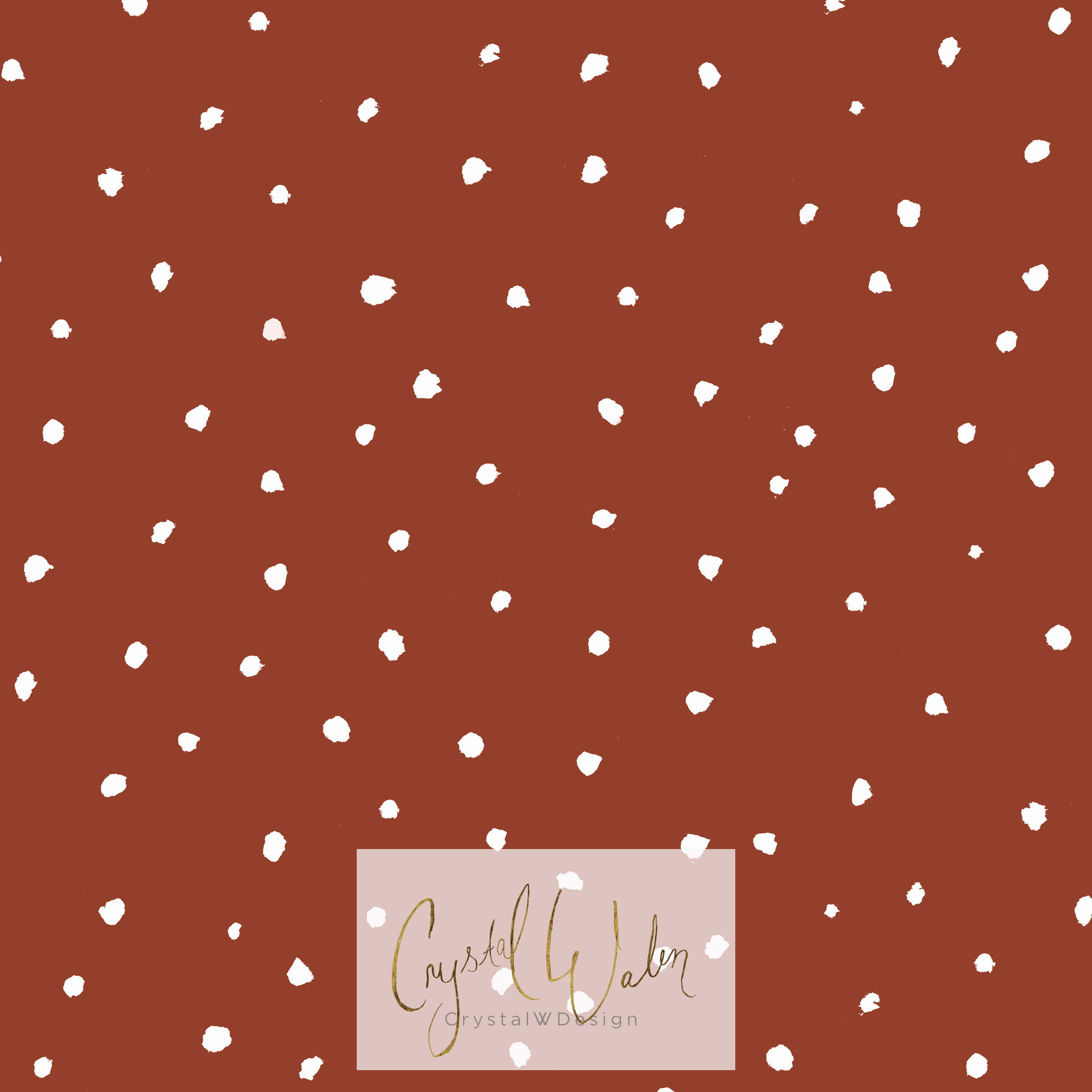 white dots coordinate red earth